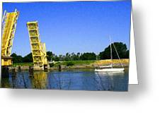 Bridge Up 4 Safe Passage Greeting Card