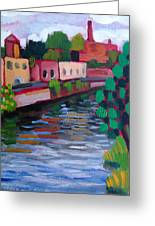 Bridge View Greeting Card