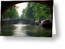 Bridges In Amsterdam Greeting Card