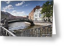 Bridges Of St. Petersburg Greeting Card