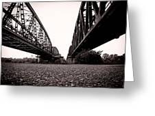 Bridges Over Greeting Card