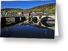 Bridges To Buckland Greeting Card