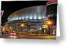 Bridgestone Arena - Nashville Greeting Card