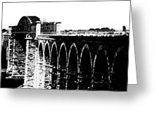 Bridging The Boyne Greeting Card