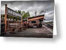 Bridgnorth Railway Station Greeting Card