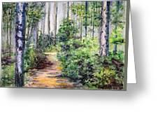 Bridle Path Greeting Card