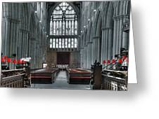 Bridlington Abbey Greeting Card
