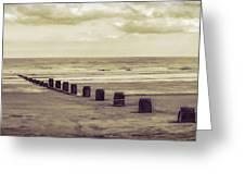 Bridlington Beach Greeting Card
