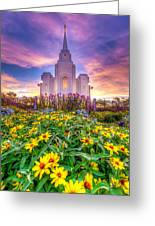 Brigham City Temple Greeting Card