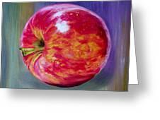 Bright Apple Greeting Card