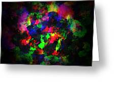 Bright Colors Of Paint Greeting Card