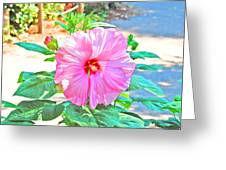 Bright Flower Greeting Card