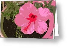 Bright Pink Greeting Card