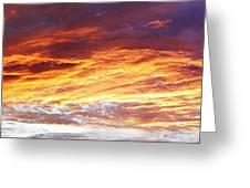 Bright Summer Sky Greeting Card