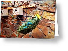 Bright Wings Greeting Card