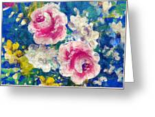 Brightly Floral Greeting Card