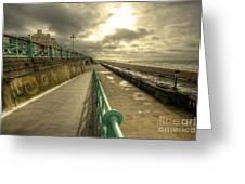 Brighton Promenade Greeting Card