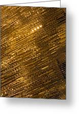 Brilliant Gold And Gems And Jewels Greeting Card