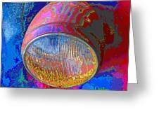 Brilliant Headlight Greeting Card
