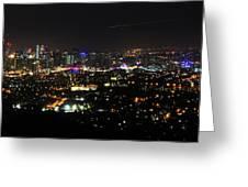 Brisbane Nights I Greeting Card