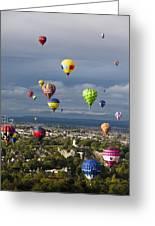 Bristol Balloon Fiesta Bristol Greeting Card