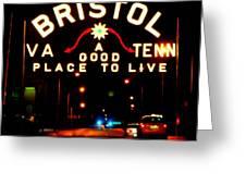 Bristol Greeting Card by Karen Wiles