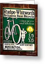 Britains Best Bicycle Greeting Card