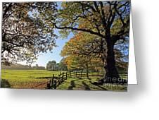 British Autumn Greeting Card
