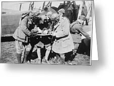 British Aviators, Early 20th Century Greeting Card