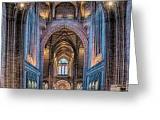 British Cathedral Greeting Card by Adrian Evans