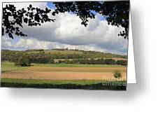 British Countryside Sussex Uk Greeting Card