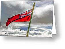 British Merchant Navy Flag Greeting Card