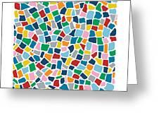 British Mosaic Multi Greeting Card