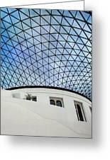 British Museum Greeting Card by Stephen Norris
