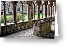 Brittany Cloister  Greeting Card