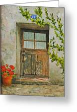 Brittany  Door Greeting Card