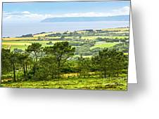 Brittany Landscape With Ocean View Greeting Card by Elena Elisseeva