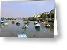 Brixham In Devon Greeting Card