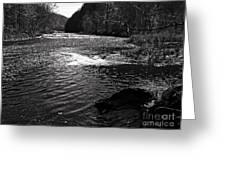 Broad River 5 Greeting Card