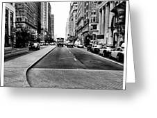 Broad Street Philly Greeting Card