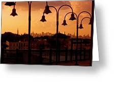Broadway Junction In Brooklyn, New York Greeting Card