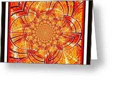 Brocade Abstract Greeting Card