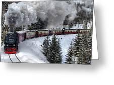 Brockenbahn Greeting Card
