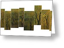 Broken Forest Greeting Card