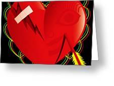 Broken Heart Mended Greeting Card