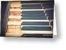 Broken Melody Greeting Card