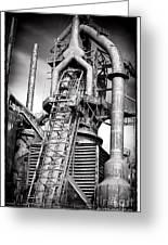 Broken Promises At Bethlehem Steel Greeting Card