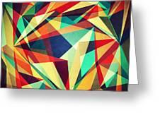 Broken Rainbow Greeting Card