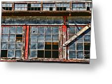 Broken Windows Greeting Card by Paul Ward
