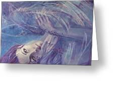 Broken Wings Greeting Card by Dorina  Costras